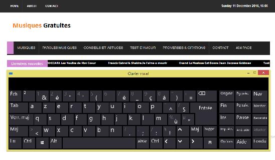 Comment afficher un clavier de secours à l'écran En cas de problème avec votre clavier ?