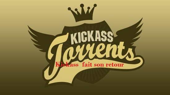 Moins de six mois après sa suspension , Le grand site de téléchargement Kickass  fait son retour sous un nouveau nom, KATcr.