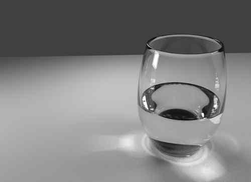 Mettez un verre d'eau salé dans votre chambre et admirez ce qui se passe ! C'est génial !!